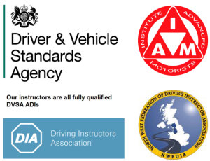 Driver Instruction organisation logos
