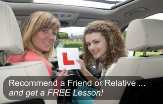 recommend a friend for a free lesson